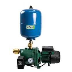 DAB-132MP - PUMP SURFACE MOUNTED JET WITH PRESSURE SWITCH 80L/MIN 48M 1.0KW 240V +18L TANK