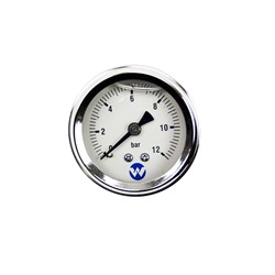 WHI-12BARPG - PUMP PRESSURE GAUGE 12 BAR LIQUID FILLED