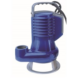 ZEN-DGBLUE75/2/G40VMEX - PUMP SUBMERSIBLE IECEX DIRTY WATER DOMESTIC 420L/M 10M 0.55KW 240