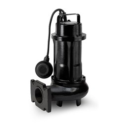 ZEN-DGE200/2/G50HMSIC - PUMP SUBMERSIBLE DIRTY WATER DOMESTIC 600L/M 15.5M 1.5KW 240V