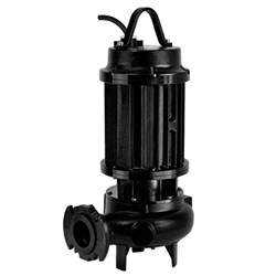 ZEN-DRP2000/2/80T - PUMP SUBMERSIBLE HEAVY SOILED WASTE WATER INDUSTRIAL 2400L/M 52.3M 19.