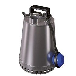 ZEN-DRSTEEL75MA - PUMP SUBMERSIBLE  SLIGHTLY DIRTY WATER 330L/M 16M 0.75KW 240V