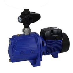 BIA-FERRO110M PUMP SURFACE MOUNT CAST IRON WITH PRESSURE SWITCH CLEAN WATER 100L/MIN 55M 1.1kW 240V