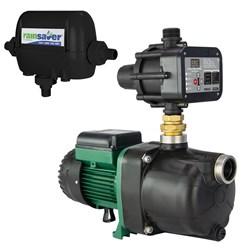 RS4E-JETCOM82MPCX - PUMP CHANGEOVER RS4E SURFACE MOUNTED CLEAN WATER 60L/MIN 46M 600W 240V