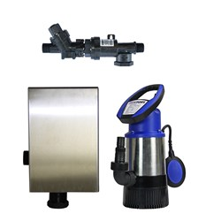 RS5-JH8003S2PC20 RAINSAVERMK5 PUMP KIT SUBMERSIBLE CLEAN WATER DOMESTIC 83L/M 30M 0.8KW240V