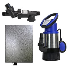 RS6-JH8003S2PC20 RAINSAVERMK6 PUMP KIT BUILDERS PACK SUBMERSIBLE CLEAN WATER DOMESTIC 83L/M 30M 0.8K
