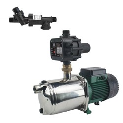 RS6-iEUROINOX40/80M RAINSAVERMK6 PUMP KIT CLEAN WATER DOMESTIC 120L/M 59M 1.0KW 240V