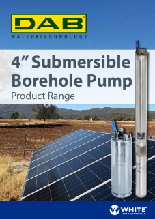 Submersible Borehole Pump Product Range
