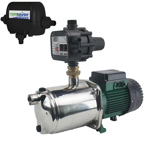 RS4E-EUROINOX40/80MPCA - PUMP CHANGEOVER RS4E SURFACE MOUNTED CLEAN WATER 120L/MIN 58M 1000W