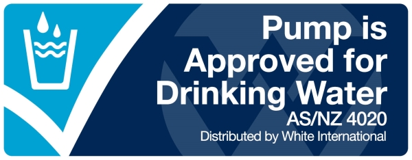AS/NZS 4020 drinking water approved